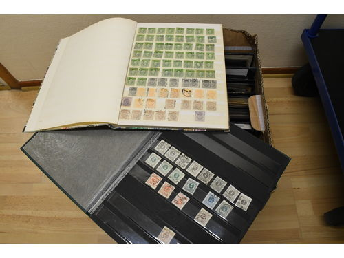 Sweden. Used. Duplicate stock in 7 albums ring type - 1980's. Not examined.