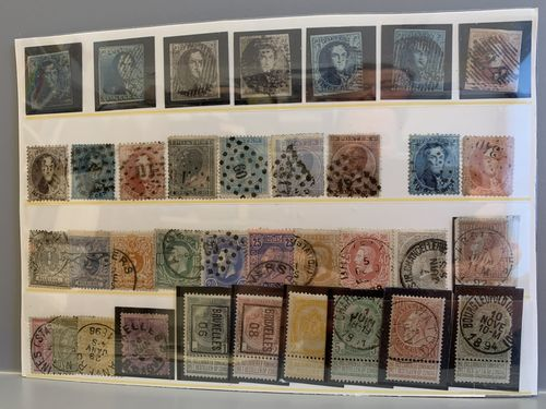 Belgium. Lot mostly used. classical–older. The entire lot is presented at www.philea.se.
