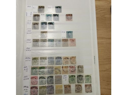 Belgium. Collection used 1849–1997 in stockbook. Incl few unused e.g. Mi 191-203 *. Mostly fine quality.