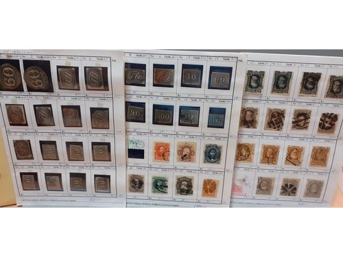 Brazil. Accumulation */¤ Classics–1980s in 26 circulation booklets, mostly well filled. Interesting and varied with also better stamps, e.g. classics, very high catalogue value! Mostly fine quality.