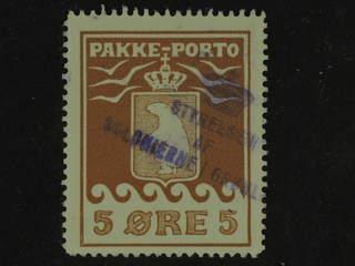 Denmark Greenland. Facit P6 used , 5 øre brown. Pmk Styrelsen af Kolonierne. Good …