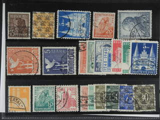 Germany American and British Zone. Used 1947–49. All different, e.g. Mi 41 I, 45 II, 100 …