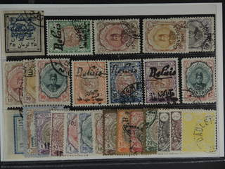 Iran. Used 1902–22. All different, e.g. Mi 163, 322-24, VIa-d, 474, 476-78. Can be false …