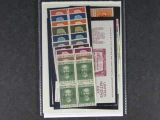 U.N. UNTEA. Michel 1–19 ★★ , 1962 Overprint on West New Guinea stamps SET (19). Cpl in …