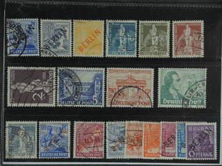 Germany Berlin. Used 1948-49. All different, e.g. Mi 13, 15, 27, 36, 38-39, 41, 59-61. …