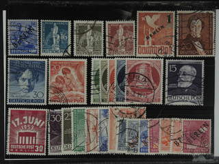 Germany Berlin. Used 1948–54. All different, e.g. Mi 13, 36, 38-50, 67, 74, 81-86, 87, …