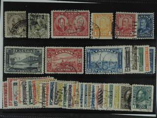 Canada. Used 1898-1930. All different, e.g. Mi 81-82, H-Bl.5, 126, 128D, 130, 135-36, …
