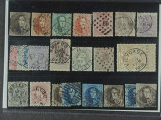 Belgium. Used 1849–1905. All different, e.g. Mi 1, 9 II, 10B, 13B, 17, 33, 35-38, and …