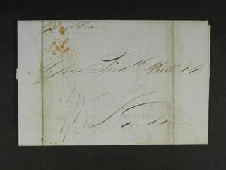 "Denmark Danish West Indies. Prephilately. Letter sent from ST THOMAS 30.NO.46 ""pr …"