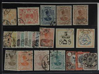 Iran. Used 1876–1903. All different, e.g. Mi 78, 85, 124-25, 129-38, 144, 160, 181. Can …