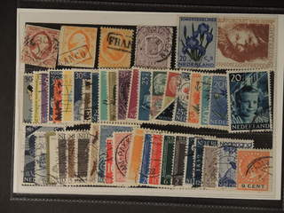 Netherlands. Used 1852–1960. All different, e.g. Mi 2-3, 6, 18B, 611, 676. Mostly good …