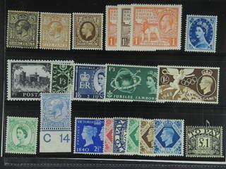Britain. ★★/★ 1912-53. All different, e.g. Mi 137, 161, 166-68, 185, 269, Postage Due …