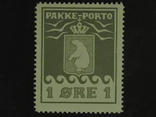 Denmark Greenland. Facit P4 IV ★★ , 1 øre olive. Good centering. Cert Möller.