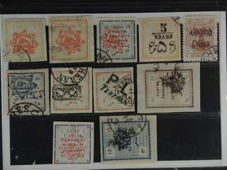 Iran. Used 1902–06. All different, e.g. Mi 150-51 II, 155 II, 160, 163, 167, 171 II, …