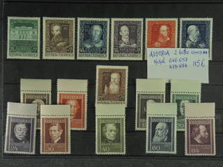 Austria. Michel 649–57, 878–84 ★★  EUR115
