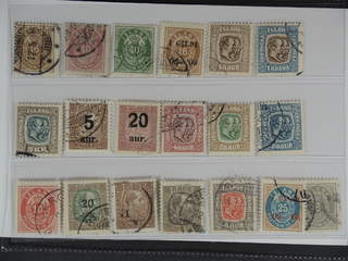Iceland. Used 1876–1929. All different, e.g. F 13, 16 (tear), 17, 54, 83, 88-89, 98, …