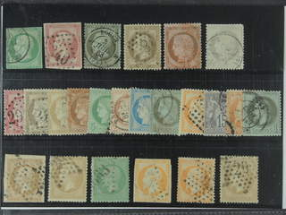 France. Used 1853–1876. All different, e.g. Mi 11, 16, 18, 29, 33, and 47. Mostly good …