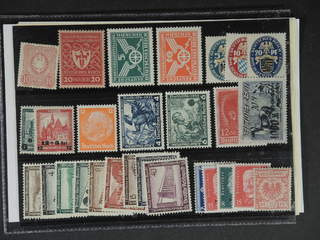 Germany Reich. ★★/⊙ 1880–1937. All different, e.g. Mi 41, 204, 370-71, 375-77, 463-64, …
