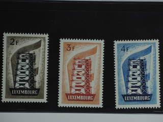 Luxembourg. Michel 555–57 ★★ , 1956 Europa CEPT SET (3). EUR200