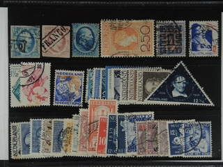 Netherlands. Used 1852–1952. All different, e.g. Mi 1-2, 4, 99, 137, 243-44, 247, 256. …