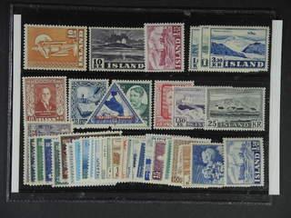 Iceland. ★★ 1930–71. All different, e.g. Mi 280, 287, 303, 312-14, 318, 324, 328-29, …