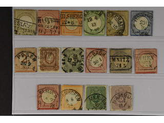 Germany Reich. Used 1872–1879. All different, e.g. Mi 6, 9, 14, 17, 22(signed), 29, 35. …