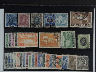 Iceland. Used 1873-1956. All different, e.g. F 134, 154, 156, 159, 199, 205-09, 230, …