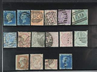Britain. Used 1841-1881. All different, e.g. Mi 4A, 11B, 24, 28-29, 33-34, 37-38, 40-41. …