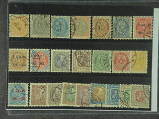 Iceland. Used 1876–1908. All different, e.g. F 8, 11, 15, 22, 27–28, 54, 58, 72, 83. …