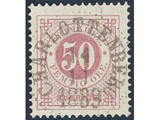 Sweden. Facit 48 used , 50 öre red. EXCELLENT cancellation CHARLOTTENBERG 14.11.1889. …