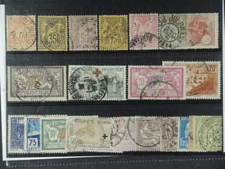 France. Used 1876-1929. All different, e.g. Mi 65 I, 75-76, 82, 81 I, 85, 99, 136, 183, …