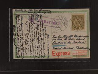 Austria. Michel 194 cover , 40 h on express postcard sent from WIEN 23.X.16 to Germany. …