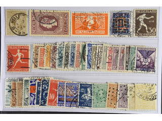 Netherlands. Used 1869–1930. All different, e.g. Mi 43, 89, 135, 137, 212, 210D. Mostly …