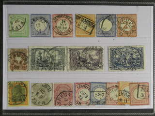 Germany Reich. Used 1872–1902. All different, e.g. Mi 2, 5, 9, 14, 26, 29, 35, 65, 80. …
