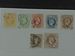 Austria. Michel 35–41 I used , 1867 Franz Joseph SET first print (7). EUR190