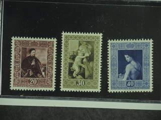 Liechtenstein. Michel 306–08 ★★ , 1952 Paintings III SET (3). EUR150