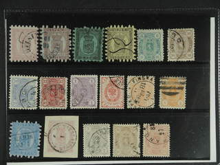 Finland. Used 1860-1891. All different, e.g. F 4, 5//, 6//, 7//, 14-16S, 18S, 19c2. …