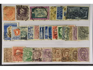 Italy. Used 1863–1952. All different, e.g. Mi 22, 267, 292, 743, 745, 759, 804, 847, …