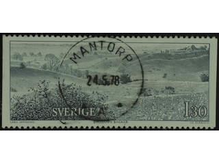 Sweden. Facit 1039 used , 1978 Travels of Linne´ 1.30 Kr grey-green. EXCELLENT …