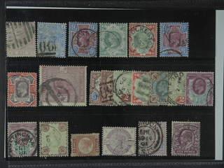 Britain. Used 1870–1902. All different, e.g. Mi 47, 59, 95, 97, 101, 112-13, and 115. …