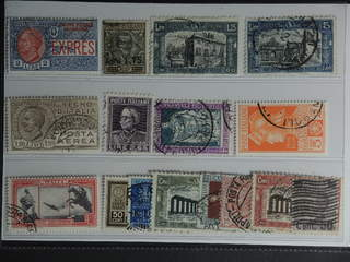 Italy. Used 1923–32. All different, e.g. Mi 213, 221, 251-52, 254, 267, 292, 341, 406. …