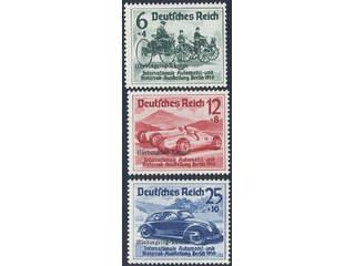 Germany Reich. Michel 695–97 ★★ , 1939 NÜRBURGRING-RENNEN overprint SET (3). EUR300