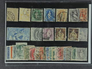 Switzerland. Used 1867–1924. All different, e.g. Mi 36, 56, 59B, 62, 64, 68, 73, 77, …