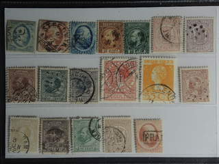 Netherlands. Used 1852–1930. All different, e.g. Mi 1-2, 4, 9-10, 16, 18, 20, 25, 28. …