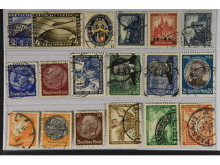 Germany Reich. Used 1928–34. All different, e.g. Mi 423-24, 433, 461, 477, 481, 488, …