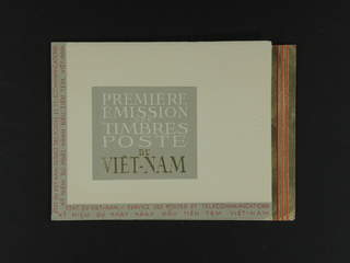Vietnam Bao Dai. ★★ , 1951 Landscapes. Booklet with the five blocks, unusual! One block …