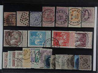 Belgium. Used 1851-1912. All different, e.g. Mi 9 II, 38, 40, 58-59, 76-77, 86-88 II, …