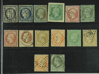 France. Used 1849–1862. All different, e.g. Mi 3-4, 9-11, 16, 18, 23, and 25. Mostly …