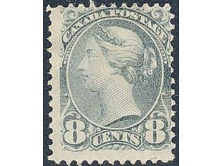 Canada. Michel 35 ★ , 1893 8c Victoria. EUR140