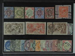 Britain. Used 1887–1934. All different, e.g. Mi 95, 97, 101, 112-13, 115, 141-42 III, …